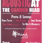 Saturday 13 April: Mind in Camden Benefit Gig