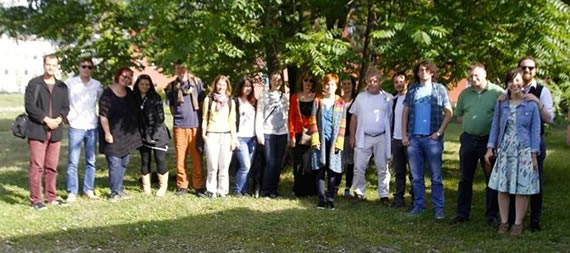 Trainees from Sarajevo
