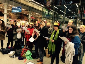 Carol Singing at St Pancras